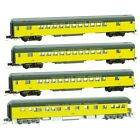 Z Scale MICRO TRAINS LINE 994 01 240 CHICAGO  NORTH WESTERN 4 Car Runner Pack