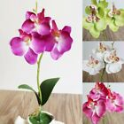 Artificial Fake Flower Phalaenopsis Mini Butterfly Orchid Home Garden Decoration