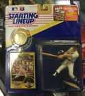 1991 MLB Baseball Starting Lineup Kevin Maas New York Yankees W/ Collector Coin