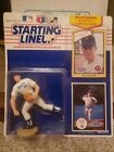 Nolan Ryan Starting Lineup 1990 MLB Figure & Cards Rangers NY Mets Kenner