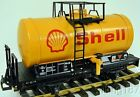 LGB 4040S RhB Swiss SHELL Oil Tanker Freight Car in C 7 Condition