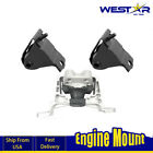 3 PCS Auto Trans & Engine Motor Mount Westar For 87-90 WRANGLER L6 4.2L AT KS09
