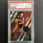 2009-10 Absolute STEPHEN CURRY Rookie Jersey Auto 22 25 PSA 10