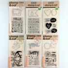 Hero Arts Stamp  Cut Lot Of 6 Clear Stamp Die Sets Happy Anchor Butterfly Yes