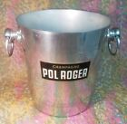 Vintage French Champagne Ice Bucket Pol Roger Made in France