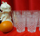 2 Only Vtg Anchor Hocking 'WEXFORD' 10 oz Drinking Glass Tumblers 5 1/2