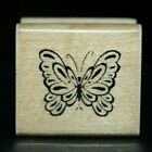 Inkadinkado DELICATE BUTTERFLY Mini Wood Rubber Stamp