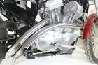 V Twin 30 0004 Chrome 2 Into 2 Curved Radius Exhaust Header Set Harley XL 07 Up