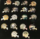 Wholesale Lot 100 NFL Helmet Charms Jewelry Making Cowboys Steelers Patriots