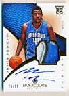 2012-13 Panini Immaculate Basketball Rookie Autograph Patch Gallery, Guide 79