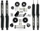 Rubicon Express 25 Lift Kit Twin Tube Shocks RE7133T 07 18 FOR Jeep Wrangler