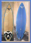 Surfboard 3 fin in San Diego 77 x 21 Blue  Ivory Color Unknown Logo Brand Surf