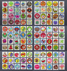 Vintage TREND Scratch and Sniff MATTE Stinky Stickers COMPLETE SET 1979 1983