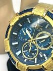 Invicta 25865 Bolt Chronograph Two Tone Stainless Steel Blue Dial Men's Watch