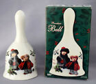 Boyds Bears Porcelain BELL Adorable Friends w/Original Box Holiday Vintage