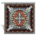 CafePress Native American Style Tapestry 4 Shower Curtain 1610367840