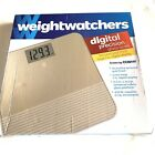 Weight Watchers by Conair Digital Bathroom Scale in Gold