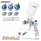 Essgoo G2008 Hvlp Spray Gun Kit 1.4 1.72.0 With 600ml Cup Car Primer Clearcoat