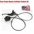 Rear Brake Master Cylinder Caliper Assembly for 50cc 125cc Chinese ATV Scooter