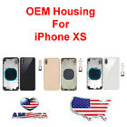 OEM Replacement Back Housing Frame Battery Glass Door Cover Fits Apple iPhone XS