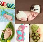 Baby Newborn Girl Boy Crochet Knit Costume Photo Photography Props Hats Outfits