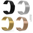 18mm For Women 1.45'' Asus Zenwatch 2 WI502Q Bands Stainless Steel Metal Strap