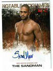 2012 Topps UFC Knockout Cards 87