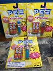 New 1998 Pez Candy Keychain 3 Styles All Here Clown, Elephant, Uncle Sam