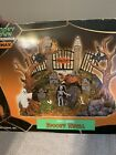 Lemax Spooky Town SPOOKY KNOLL Graveyard Village Display Resin Halloween