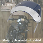 5-7inch Retro Motorcycle Round Headlamp Fairing Front Windshield Bracket For CG