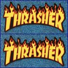 Lot of 2 Thrasher Vinyl Stickers