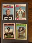 Top 20 Budget 1970s Football Hall of Fame Rookie Cards 24