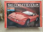 MONOGRAM 1/8 Scale Model Car Kit 1985 Corvette Coupe # 2608
