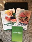 WEIGHT WATCHERS Flex Points COMPLETE FOOD  DINING OUT COMPANION Books w Case