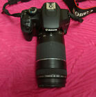 Canon EOS Rebel XS 1000D w Zoom Lens  EFS Image Stabilizer Black PREOWNED