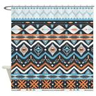 CafePress Native Pattern Decorative Fabric Shower Curtain 69x70 1295812782