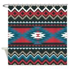 CafePress Native Pattern Decorative Fabric Shower Curtain 69x70 772961451