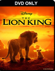 The Lion King 2019 DVD ONLY  The disc has never been watched