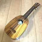 KAMAKA UKULELE Pineapple White Label Vintage Soprano USED w case