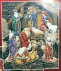 Christmas Traditions Counted Cross Stitch Kit 10 Designs Nativity Figures 319842