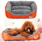 US Large Pet Dog Cat Bed Puppy Cushion House Soft Sofa Warmer Kennel Mat Blanket