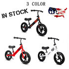 12 Childrens Balance Bike No Pedal Learn to Ride Running Bicycle Kids Gift