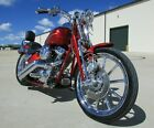 2007 Harley-Davidson Softail  2007 CVO FXSTSSE SCREAMIN EAGLE SOFTAIL SPRINGER 10K CANYON COPPER CANDY RED