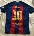 LIONEL MESSI Signed Autographed FC Barcelona Nike Jersey PSA DNA Letter of Auth