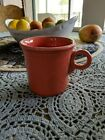 #1.FIESTA HLC  / Coral/Rose/Salmon Tom & Jerry Ring Handle Coffee Mug