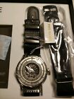Fiyta 3D Time Automatic Watch White Grey Skeleton Red Dot Award iwc fortis rolex