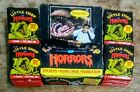 VINTAGE 1986 TOPPS LITTLE SHOP OF HORRORS CARDS 36 SEALED WAX PACKS WITH BOX