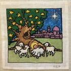MLP Handpainted Needlepoint Canvas Nativity BABY JESUS Mary Louise Pivec