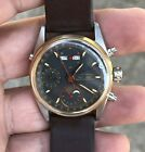 EBERHARD NAVY MASTER triple date moonphase 31012/A watch working,serviced