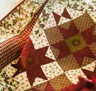 PEACEFUL MORN Quilt Pattern Piecing Assorted Prints from Magazine